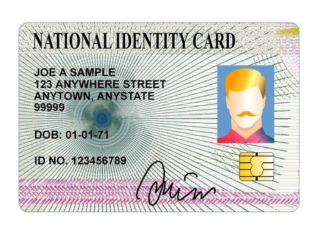 carta identit�: Carta d'identit� nazionale