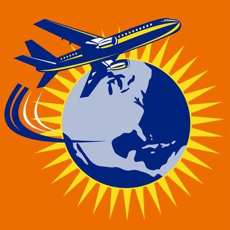 jumbo: Jumbo jet plane around the world