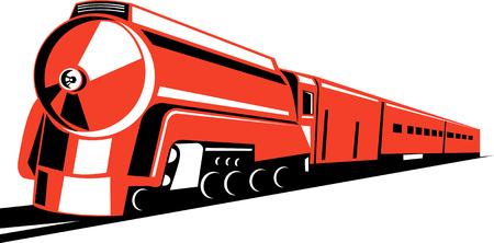 Steam locomotive Vector