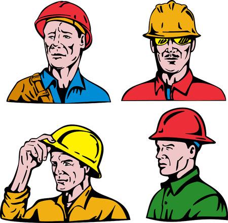 Construction worker Stock Vector - 4455877