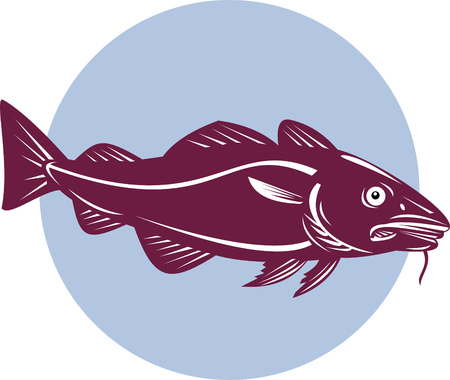 Codfish Stock Vector - 4455914