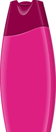 champu: Botella de champ�