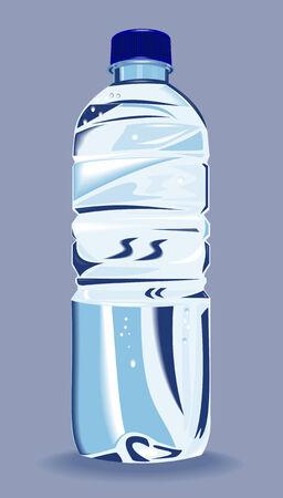 Bottled water Vetores