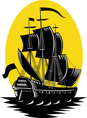 schooner: Galleon