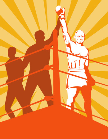 Boxing champion Stock Vector - 4582511