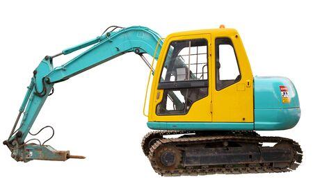 Mechanical digger photo