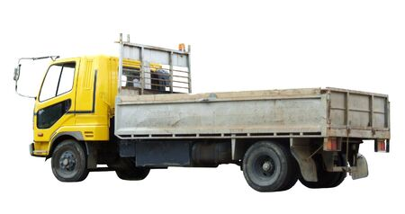 cartage: truck viewed from the side