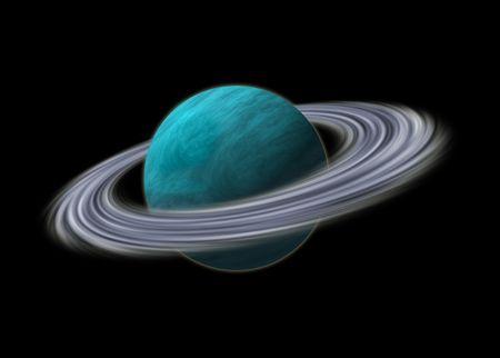Planeta Urano Foto de archivo - 5268339