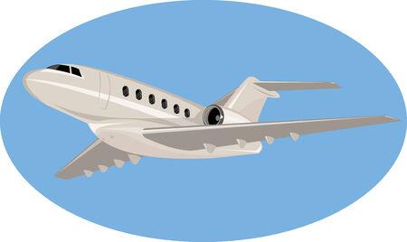 private jet: Light commercial plane