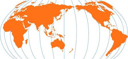 World map showing australia new zealand in center stock photo world map showing australia new zealand in center stock photo 5509100 sciox Images