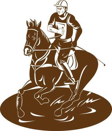 equestrian and horse photo