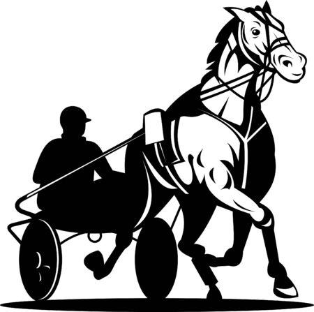 trot: harness racing