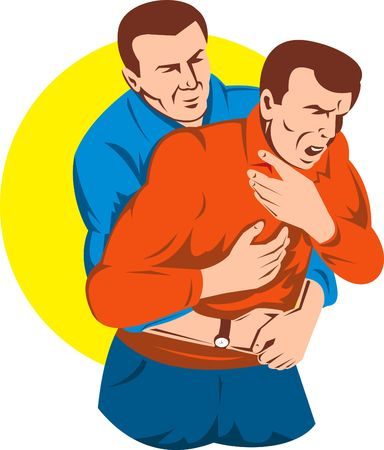 cpr: Heimlich maneuver