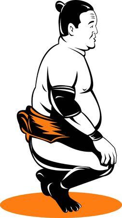 sumo: japanese sumo wrestler