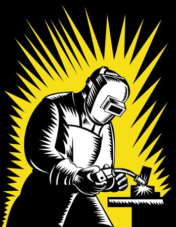 kaynakçı: welder at work