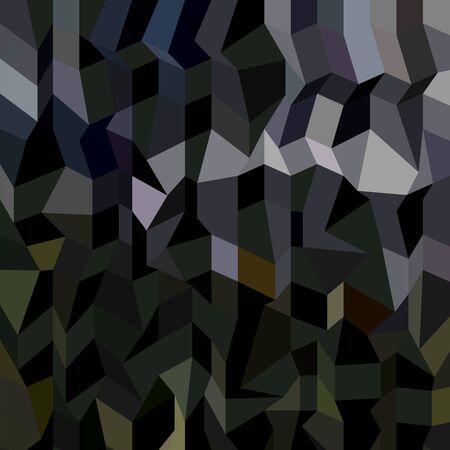 polyhedron: Ilustraci�n de estilo poligonal baja de un camuflaje de fondo abstracto.