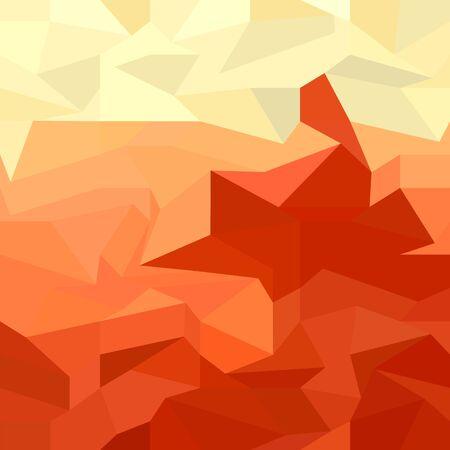 polyhedron: Fondo Rojo Robot Resumen Low Pol�gono