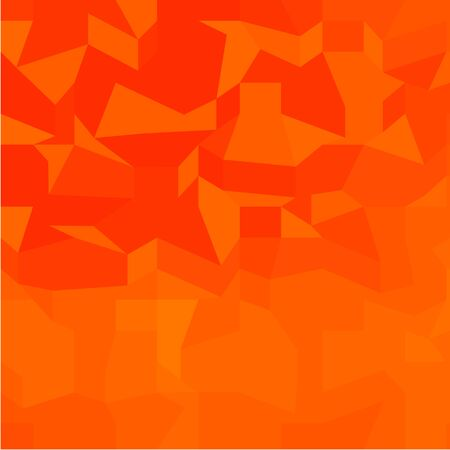 polyhedron: Ilustraci�n de estilo poligonal baja de un fuego rojo resumen de antecedentes.