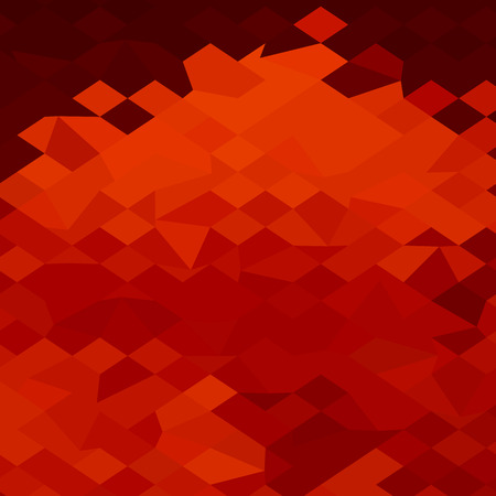 lava: Low polygon style illustration of a red lava abstract background. Illustration