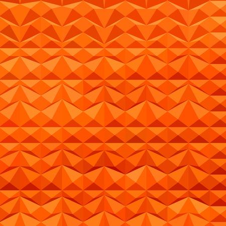 polyhedron: Ilustraci�n Low estilo pol�gono de una monta�a roja oscila fondo abstracto. Vectores