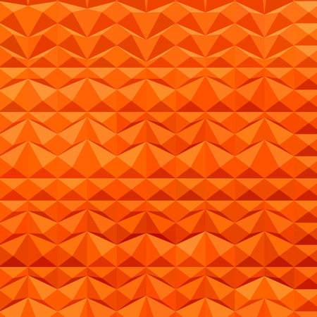 ranges: Low polygon style illustration of a red mountain ranges abstract background.