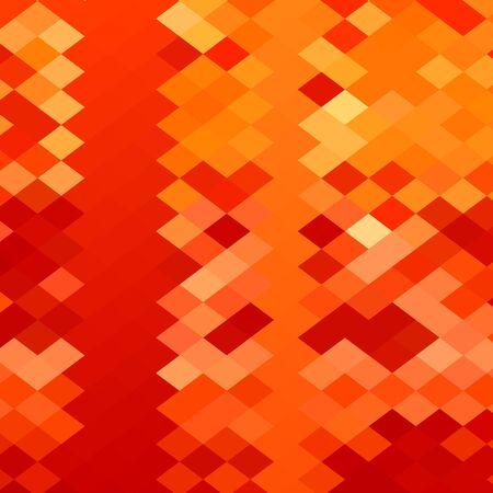 polyhedron: Ilustraci�n de estilo poligonal baja de un tejido rojo fondo abstracto.