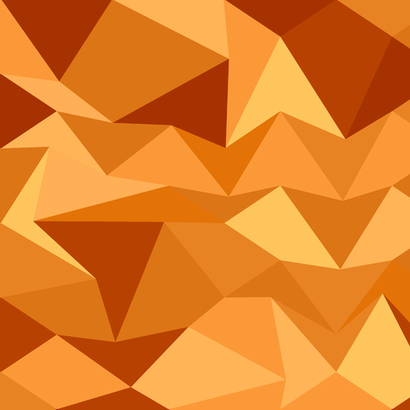 sand dunes: Low polygon style illustration of a sand dunes abstract background.
