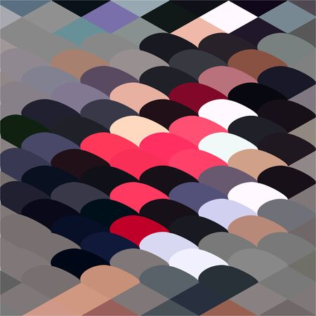 pebble: Low polygon style illustration of a pebble abstract background.