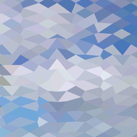 vague ocean: Faible illustration de style de polygone d'un oc�an gris Vague de fond abstrait.