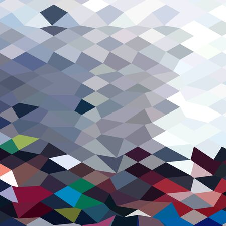tidal wave: Low polygon style illustration of a tidal wave abstract background.