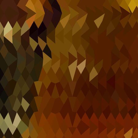 reddish: Low polygon style illustration of auburn abstract background.