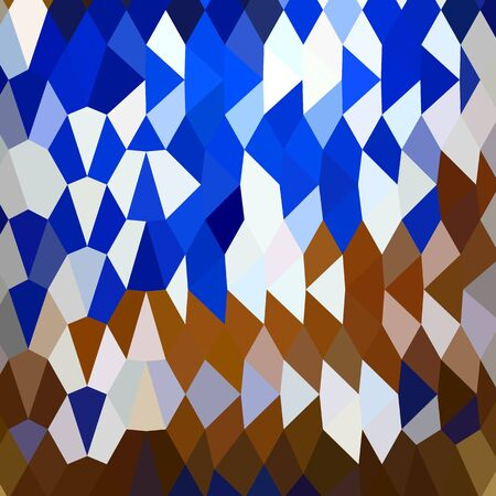 navy blue: Low polygon style illustration of navy blue abstract background.