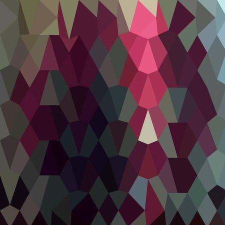polyhedron: Ilustraci�n de estilo poligonal baja de un fondo abstracto de Borgo�a.