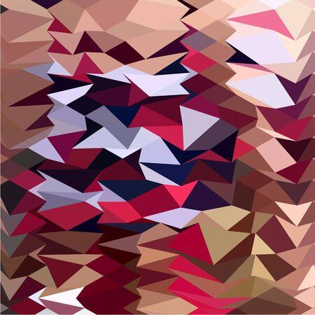 polyhedron: Ilustraci�n de estilo poligonal baja de alabastro fondo abstracto. Vectores