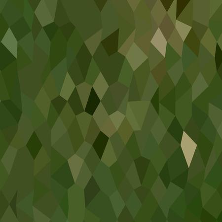 polyhedron: Ilustraci�n del estilo de pol�gono bajo de una selva verde de fondo abstracto.
