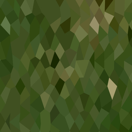 drab: Low polygon style illustration of a jungle green abstract background.