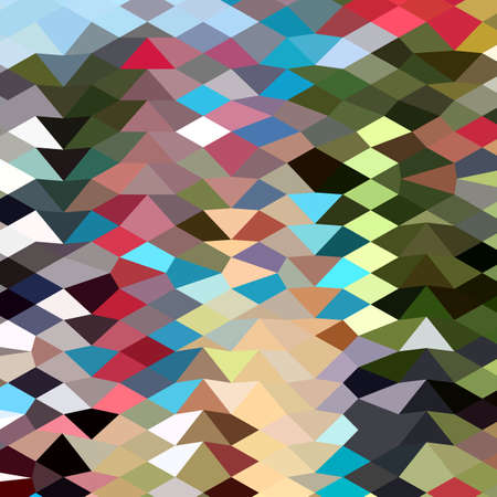 multi color: Low polygon style illustration of a multi color abstract geometric background.