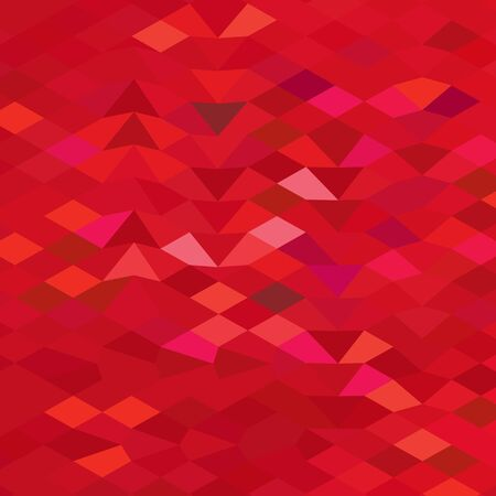 fuschia: Low polygon style illustration of an imperial red abstract geometric background.