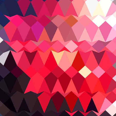 crimson: Low polygon style illustration of alizaran crimson abstract geometric background.