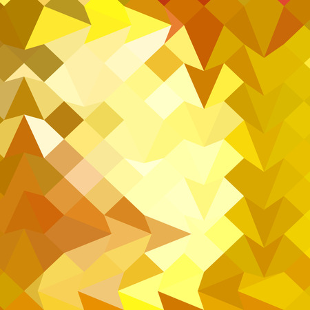 polyhedron: Ilustraci�n de estilo poligonal baja de color amarillo �mbar Fondo geom�trico abstracto. Vectores