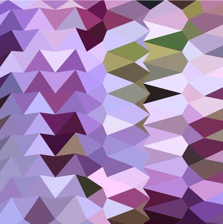 polyhedron: Ilustraci�n de estilo poligonal baja de una lavanda floral fondo abstracto geom�trico.