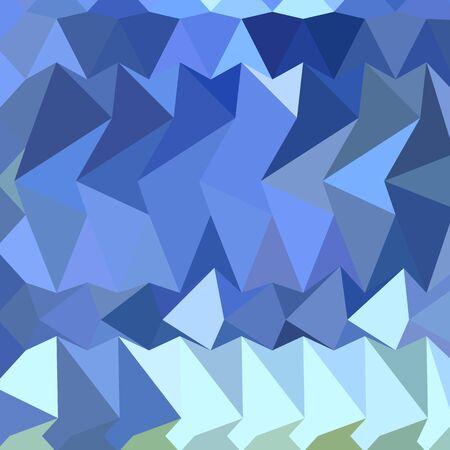 polyhedron: Ilustraci�n de estilo poligonal baja de un fondo geom�trico abstracto azul de Brandeis. Vectores
