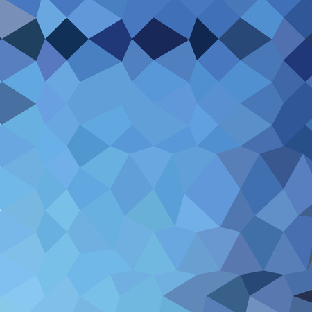 blizzard: Low polygon style illustration of a blizzard blue abstract geometric background.