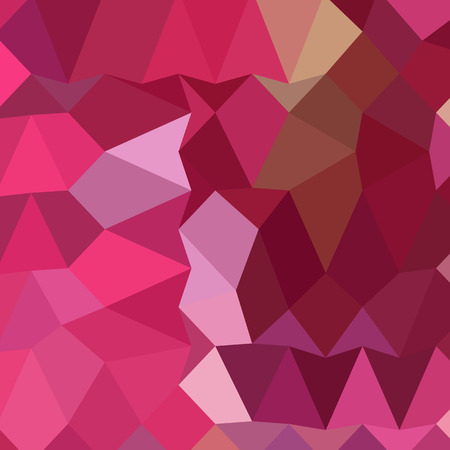 brilliant: Low polygon style illustration of a brilliant rose pink abstract geometric background. Illustration