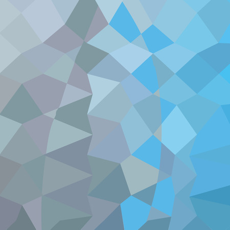 clair: Low polygon style illustration of a clair de lune grey abstract geometric background.