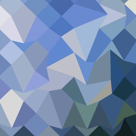 polyhedron: Ilustraci�n de estilo poligonal baja de carolina azul de fondo geom�trico abstracto.