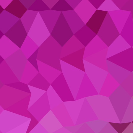 polyhedron: Low polygon style illustration of persian rose pink abstract geometric background.