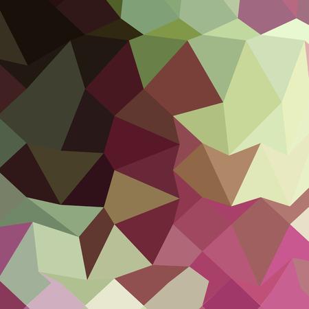 claret red: Ilustraci�n de estilo poligonal baja de un fondo geom�trico abstracto de color rojo burdeos.