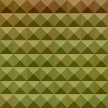 polyhedron: illustration of mignonette green abstract geometric background