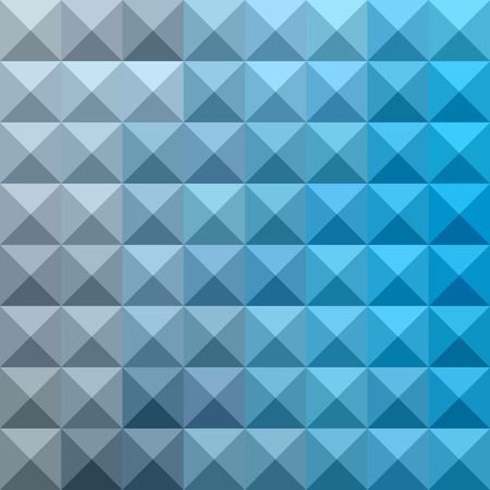 cerulean: illustration of a bright cerulean blue abstract geometric background Stock Photo